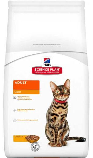 Hill's Science Plan Feline Adult Light Pollo - secco
