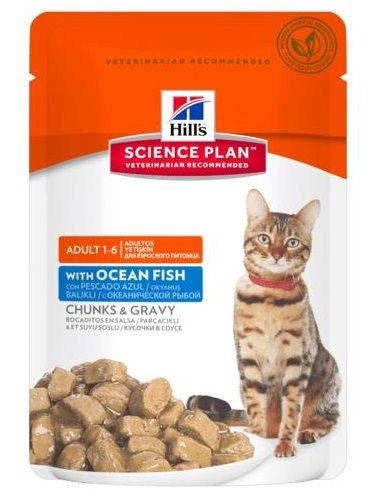 Hill's Science Plan Feline Adult (Pesce Oceanico) 85g - umido