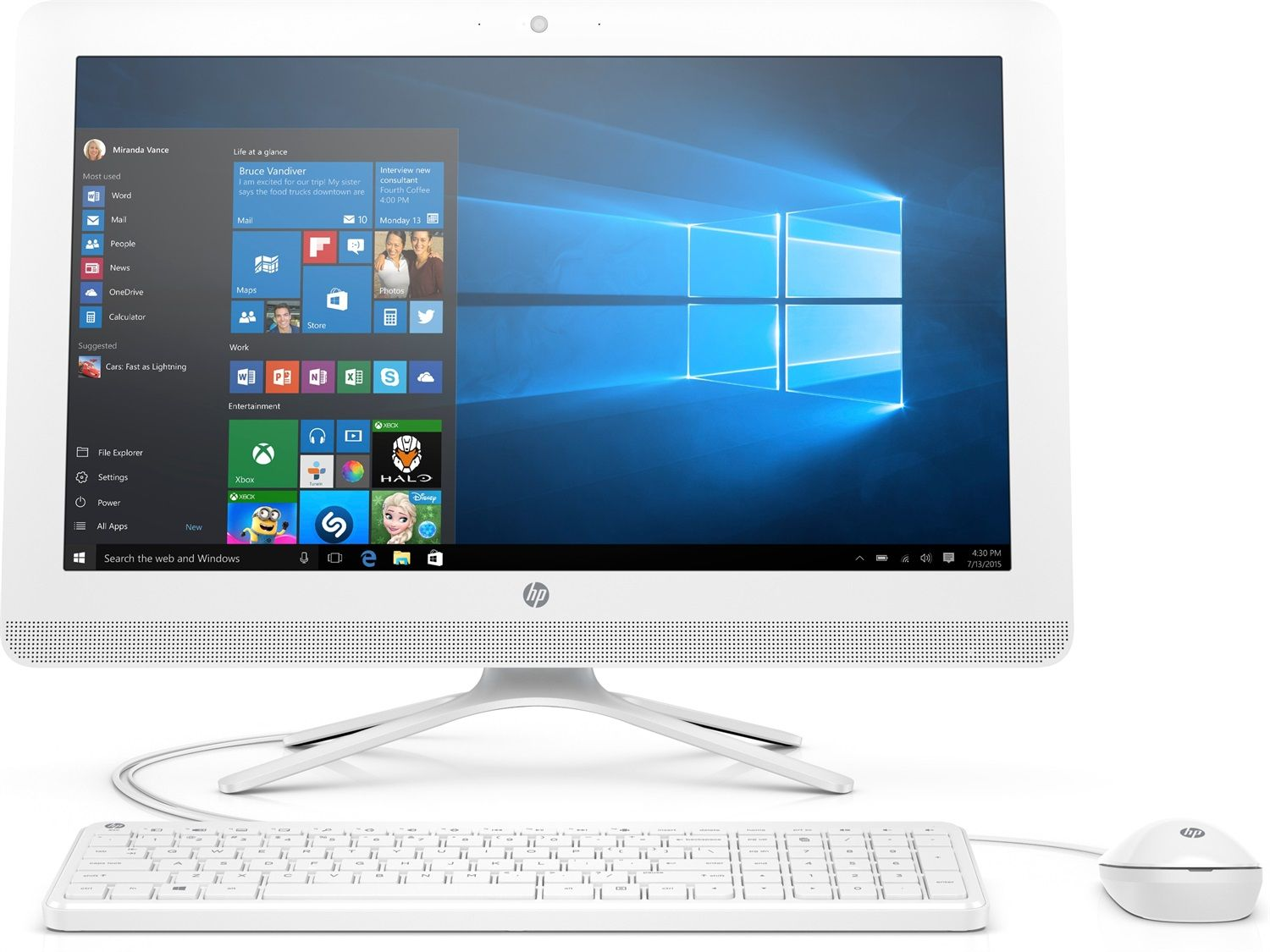 HP All-in-One 22-c0014nl
