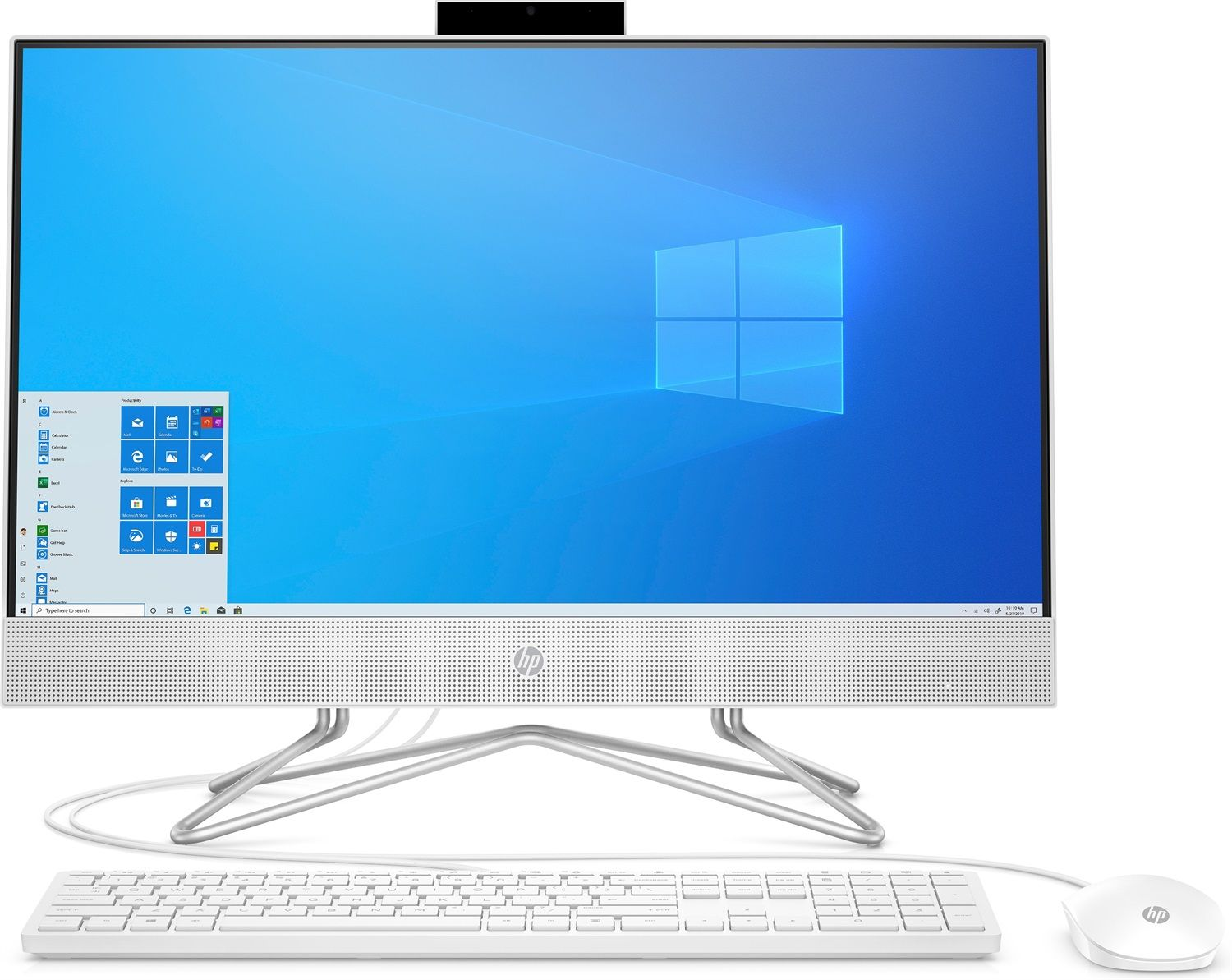"HP All-in-One 24-df0096nl (23.8"")"