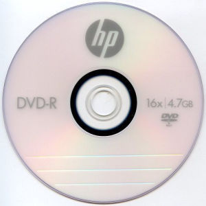 HP DVD+R 4.7 GB