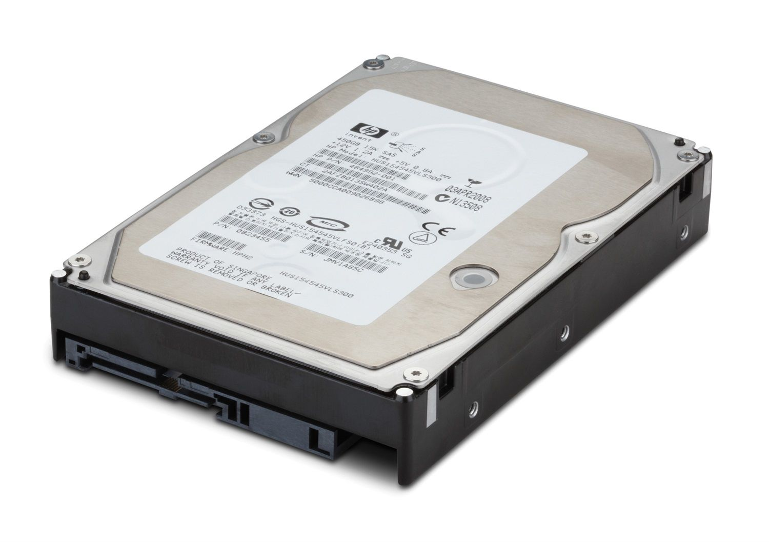 HP Hard Disk 600 GB - SAS - 15000 rpm