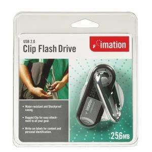 Imation Clip Flash Drive 256 MB