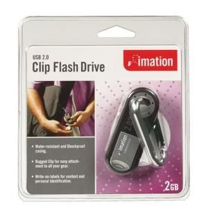 Imation Clip Flash Drive 2 GB