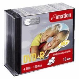 Imation DVD-R 4,7 GB 16x (10 pcs) Printable