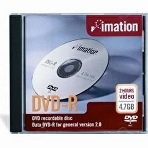 Imation DVD-R 4,7 GB 16x (10 pcs) Slim