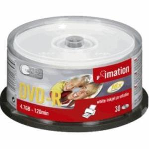Imation DVD-R 4,7 GB 16x (30 pcs cakebox) Printable