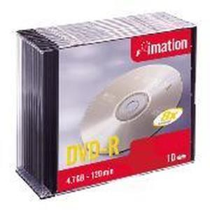 Imation DVD-R 4,7 GB 8x (10 pcs) Slim