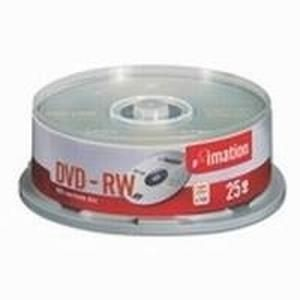 Imation DVD-RW 4,7 GB 4x (25 pcs cakebox)