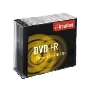 Imation DVD+R 4.7 GB 16x (10 pcs) Slim