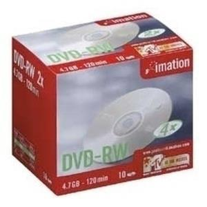 Imation Showbox DVD-RW 4,7 GB 4x (10 pcs)