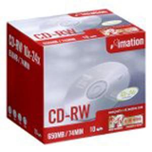 Imation Ultra Speed CD-RW 74 Min. 24x (10 pcs)