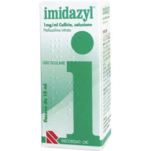Recordati Imidazyl collirio flacone 10ml 0,1%