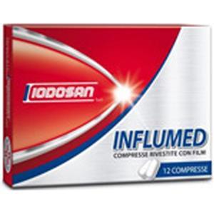 Iodosan Influmed 12 compresse rivestite
