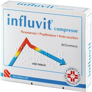 Recordati Influvit 16compresse 150+300+150mg