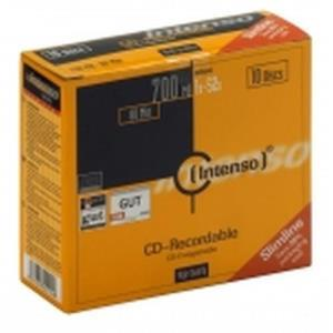 Intenso CD-R 80 Min. 40x (10 pcs) Slim