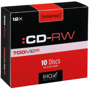 intenso cd rw 700 mb
