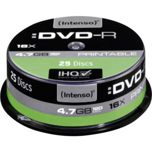 Intenso DVD-R 4.7 GB Printable (25 pcs)