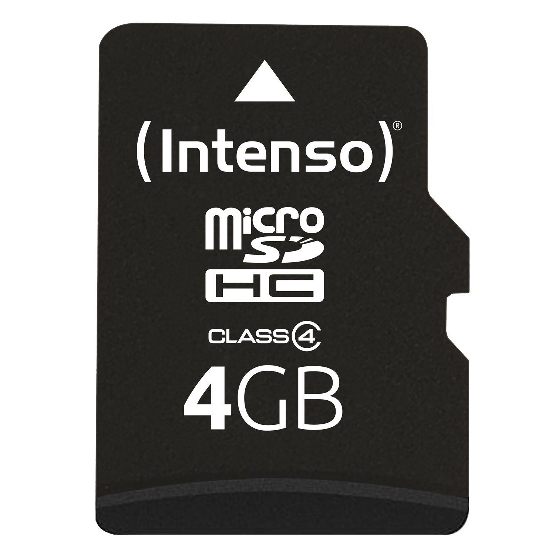 Intenso microSDHC 4 GB Class 4