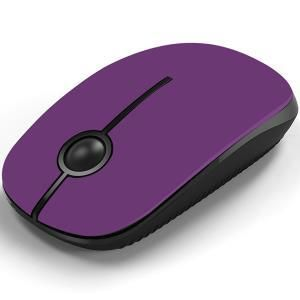 Jelly Comb Mouse senza fili 2.4 Ghz (viola)