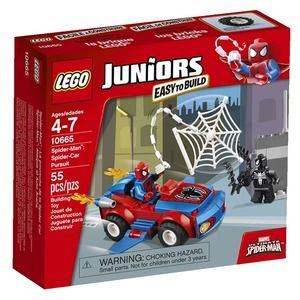 Lego Juniors 10665 Spider-Man: Attacco alla Spider Car