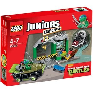 Lego Juniors 10669 Turtles Lair