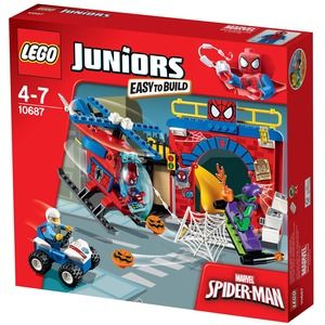 Lego Juniors 10687 Il Nascondino di Spider-Man