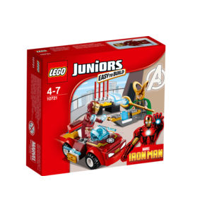 Lego Juniors 10721 Iron Man contro Loki