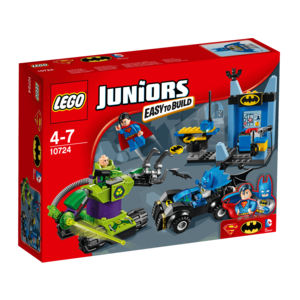 Lego Juniors 10724 Batman e Superman vs Lex Luthor