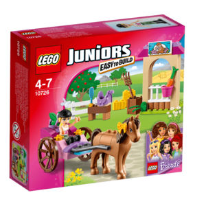 Lego Juniors 10726 Il calesse di Stephanie