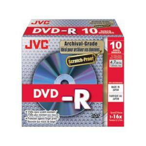 JVC DVD+R 4.7 GB 16x (10 pcs)