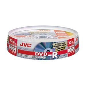 JVC DVD-R 4,7 GB 16x (10 pcs cakebox)