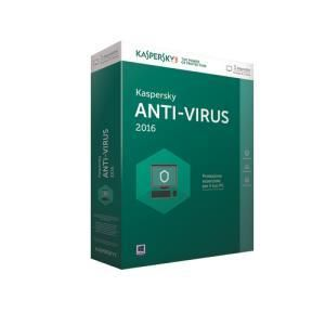 Kaspersky Anti-Virus 2016 (3 PC)