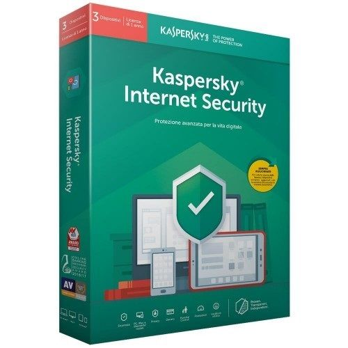 Kaspersky Internet Security 2021 3 PC