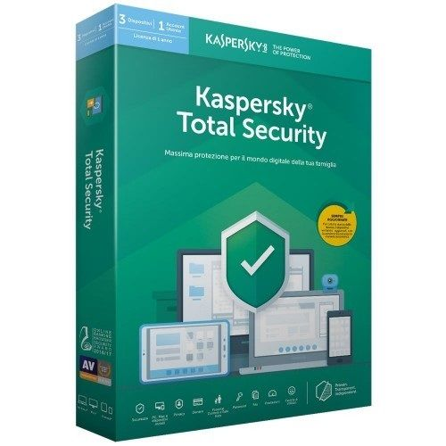 Kaspersky Total Security 2021 1 PC