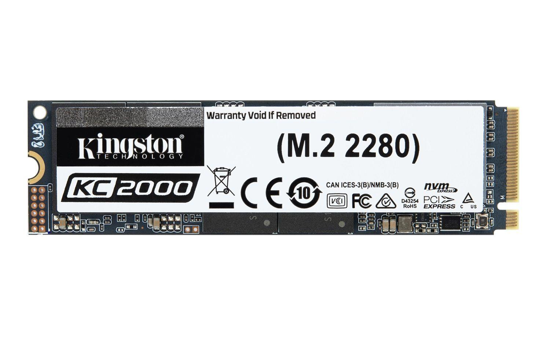 Kingston KC2000 NVMe PCIe SSD 250GB