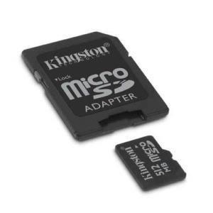 Kingston microSD 512 MB