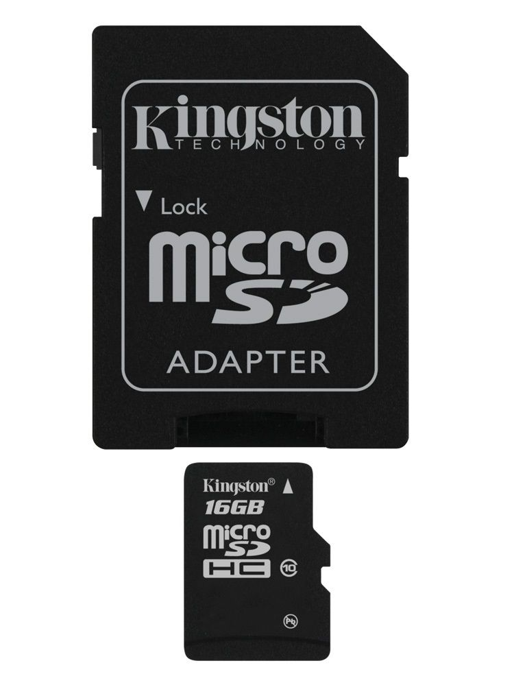 Kingston microSDHC 16 GB Class 10