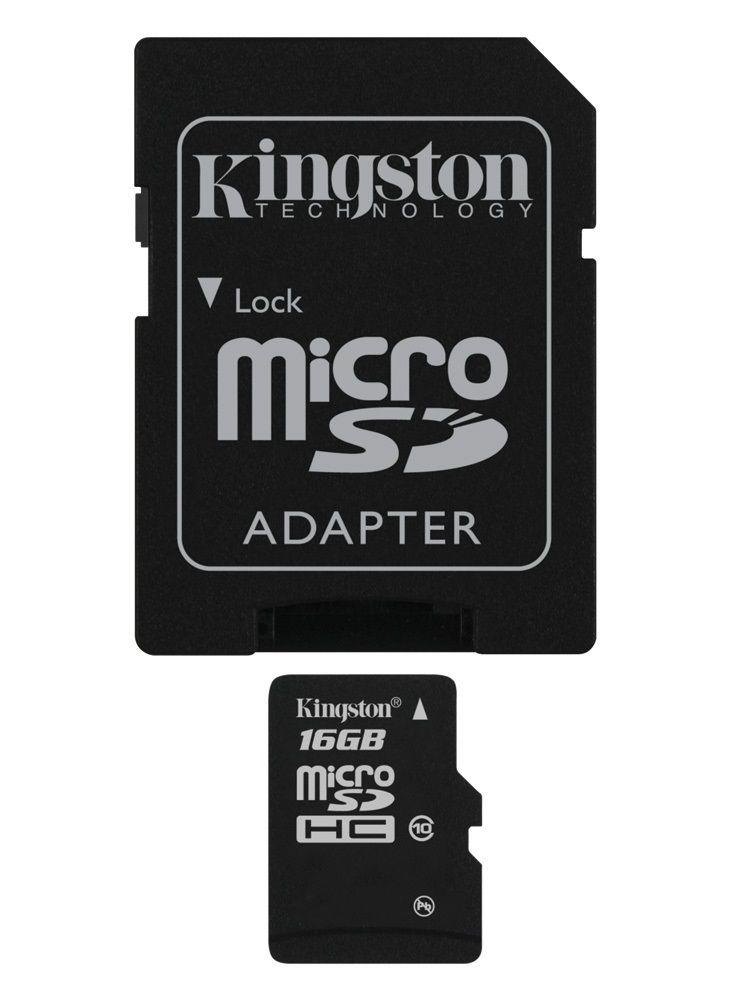 Kingston microSDHC 16 GB Class 10
