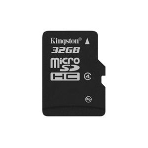 Kingston microsdhc 32 gb class 4