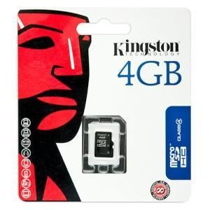 Kingston microSDHC 4 GB Class 4