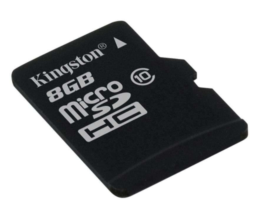 Kingston microSDHC 8 GB Class 10