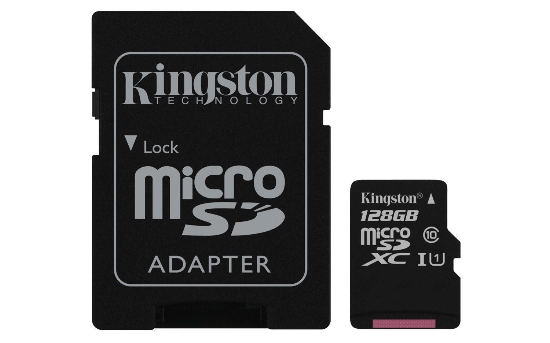 Kingston MicroSDXC 128GB Classe10 UHS-I