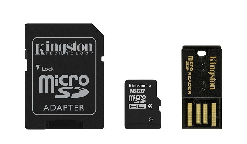 Kingston Multi-Kit / Mobility Kit microSDHC 16 GB Class 4