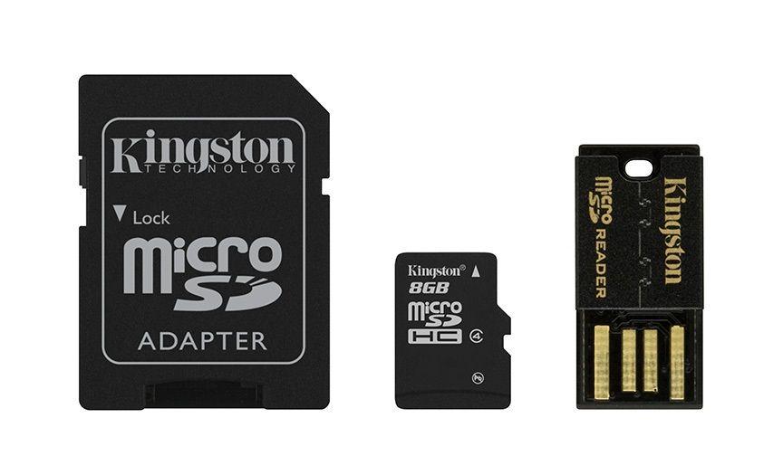 Kingston Multi-Kit / Mobility Kit microSDHC 8 GB Class 4