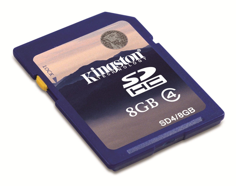 Kingston SDHC 8 GB Class 4