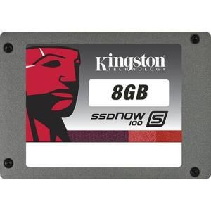 "Kingston SSDNow S100 - 8 GB - 2.5"" - SATA-300"