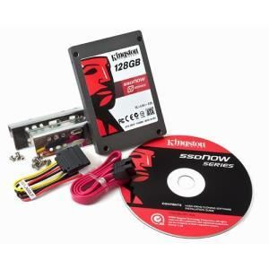 "Kingston SSDNow V-Series Desktop Upgrade kit 128 GB - 2.5"" - SATA-300"