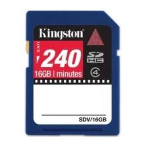 Kingston Video SDHC 16 GB