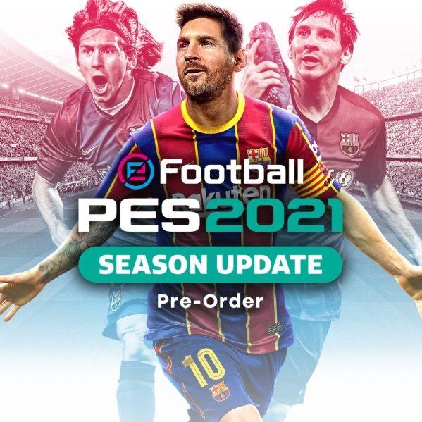 Konami eFootball PES 2021 Season Update PS4